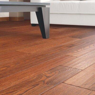 Penbridge Random Width  Engineered Oak Hardwood Flooring in Chestnut