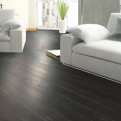Clarkston Random Width Engineered Oak Hardwood Flooring in Cognac