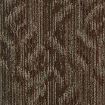 Ghent 24 x 24 Carpet Tile in Lateral Surface