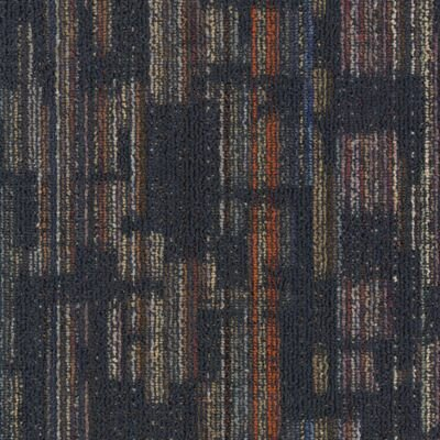 Krakow 24 x 24 Carpet Tile in Smoky Martini
