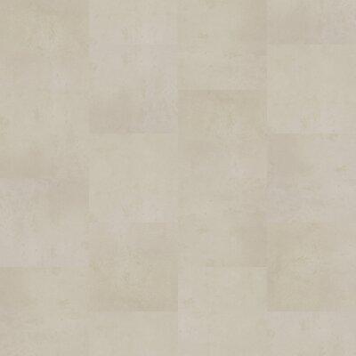 Petrology 36 x 36 x 5mm Luxury Vinyl Tile in White Opal