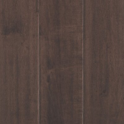 Danforth Random Width Engineered Maple Hardwood Flooring in Espresso