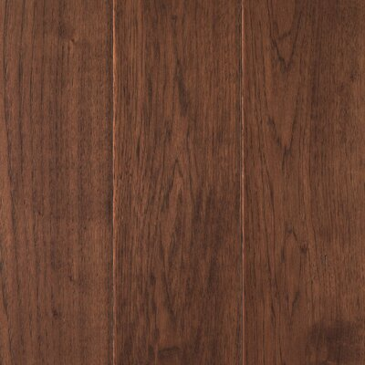 Danforth Random Width Engineered Hickory Hardwood Flooring in Sepia
