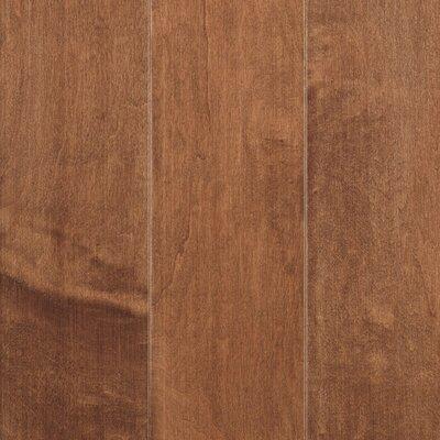 La Grotta 5 Engineered Maple Hardwood Flooring in Brick