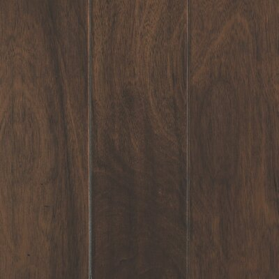 Danforth Random Width Engineered Hickory Hardwood Flooring in Sienna