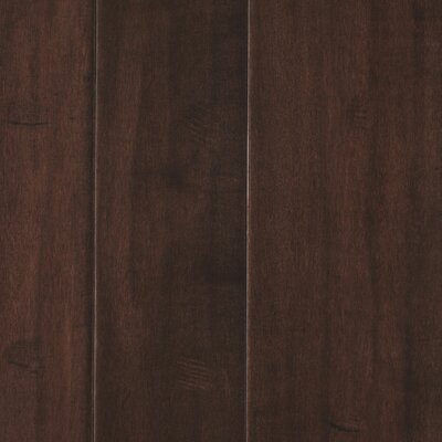 Kearny Random Width Engineered Maple Hardwood Flooring in Malt