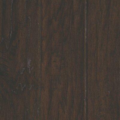 Windworn 5 Engineered Hickory Hardwood Flooring in Espresso