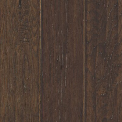 Windworn 5 Engineered Hickory Hardwood Flooring in Mocha