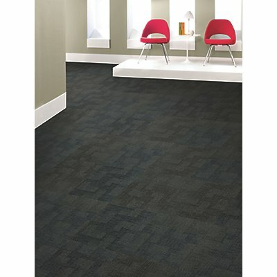 Prague 24 x 24 Carpet Tile in Visual Edge
