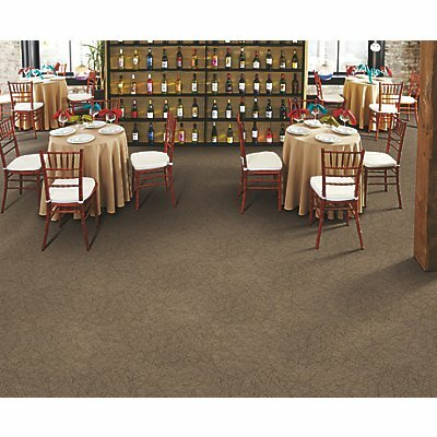 Rome 24 x 24 Carpet Tile in Empowerow