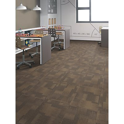 Odessa 24 x 24 Carpet Tile in Taking Charge