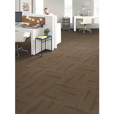Basel 24 x 24 Carpet Tile in Performance Driven