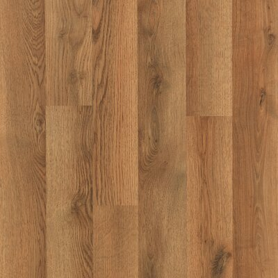 Fieldview 8 x 47 x 7.14mm Oak Laminate Flooring in Brown