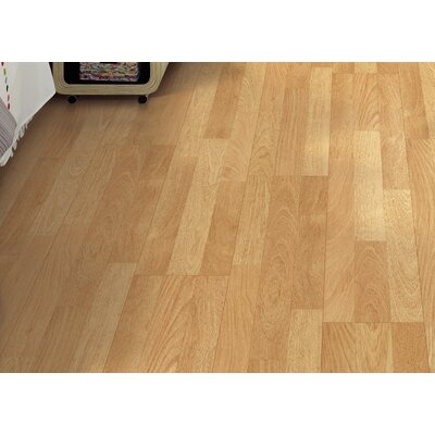 Copeland 8 x 47 x 7.87mm Teak Laminate Flooring in Natural