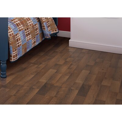 Copeland 8 x 47 x 7.87mm Oak Laminate Flooring in Brown