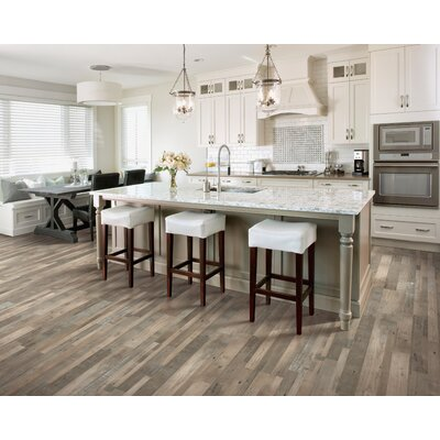 7.5 x 47.25 x 0.3mm Pine Laminate Flooring in Silver Dollar
