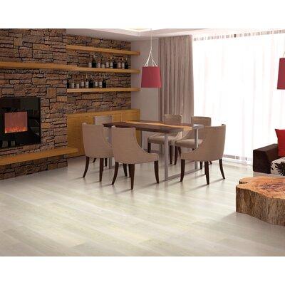 7.5 x 47.25 x 8mm Walnut Laminate Flooring in Fresh Cream
