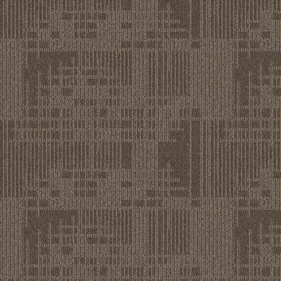 Waterville 24 x 24 Carpet Tile in Chert