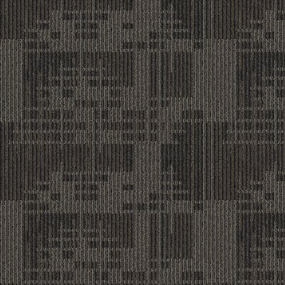 Waterville 24 x 24 Carpet Tile in Basalt