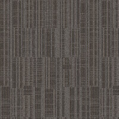 Rumford 24 x 24 Carpet Tile in Granite