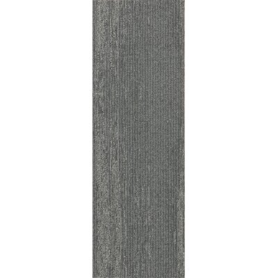 Brunswick 12 x 36 Carpet Tile in Solid Ground