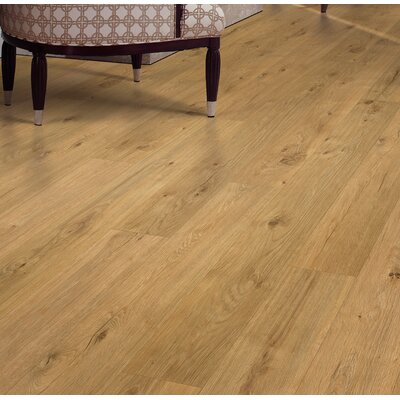 Cabrini 8 x 47 x 7.14mm Oak Laminate Flooring in Golden