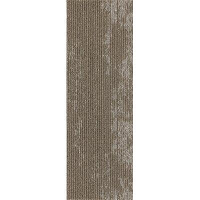 Webster 12 x 36 Carpet Tile in Rugged Range Metalli