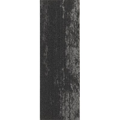 Webster 12 x 36 Carpet Tile in Daring Drift Metallic