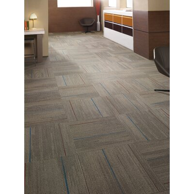 Milton 24 x 24 Carpet Tile in Cool Hand