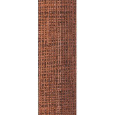 Rumney 12 x 36 Carpet Tile in Cayenne