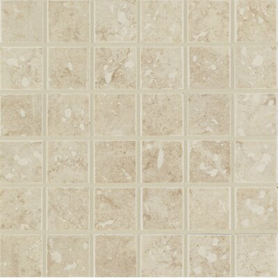 Steppington 2 x 2 Ceramic Mosaic Tile in Baronial Beige