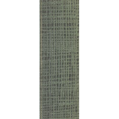 Rumney 12 x 36 Carpet Tile in Greenery