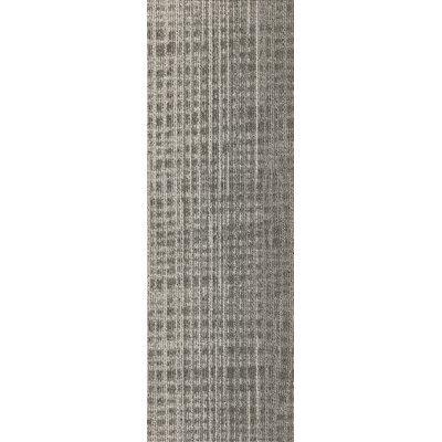 Rumney 12 x 36 Carpet Tile in Hound