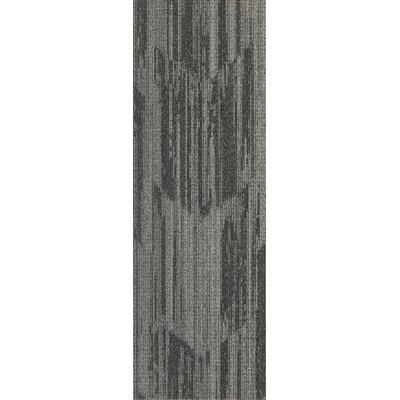 Littleton 12 x 36 Carpet Tile in Cocoa