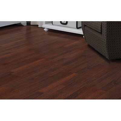 Copeland 8 x 47 x 7.87mm Oak Laminate Flooring in Dark Brown