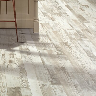 Cashe Hills 8 x 47 x 7.87mm Pine Laminate in White