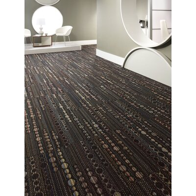 Kingston 24 x 24 Carpet Tile in Black Velvet