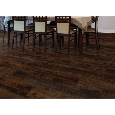 Cumberland Heights 7 x 49 x 1.5mm Luxury Vinyl Plank in Bark Hickory