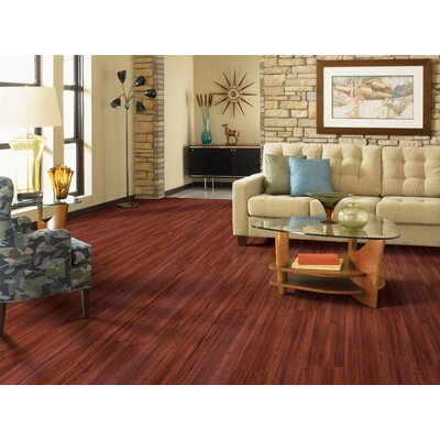 Prosperous 7 x 37 x 1.3mm Luxury Vinyl Plank in Brazilian Cherry
