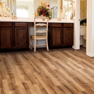 Cumberland Heights 7 x 49 x 1.5mm Luxury Vinyl Plank in Rustic Spalted Maple