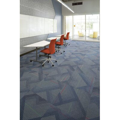 Orono 24 x 24 Carpet Tile in Tantastic