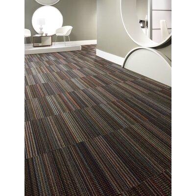 Portland 24 x 24 Carpet Tile in Black Velvet