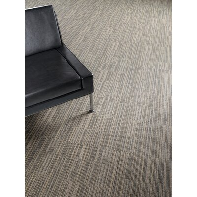 Rumford 24 x 24 Carpet Tile in Chert