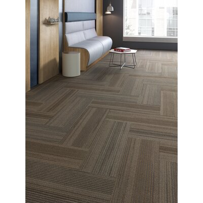 Milford 12 x 36 Carpet Tile in Spin