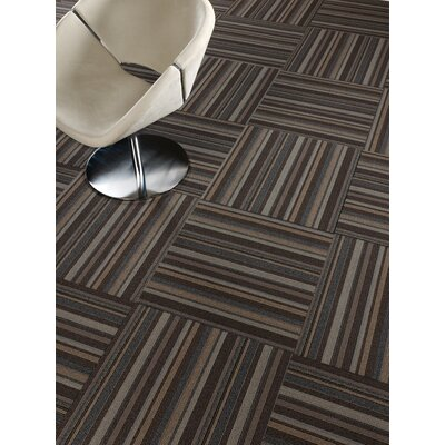 Livermore 24 x 24 Carpet Tile in Cloak & Dagger