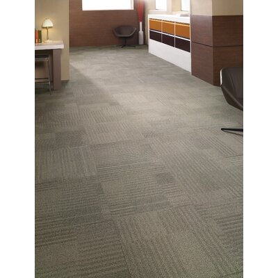 Dracut 24 x 24 Carpet Tile in Dare Devil