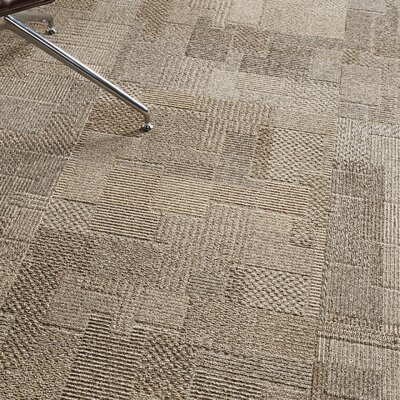 Franconia 24 x 24 Carpet Tile in Worldly