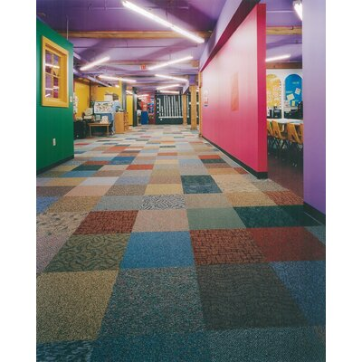24 x 24 Carpet Tile in Assorted