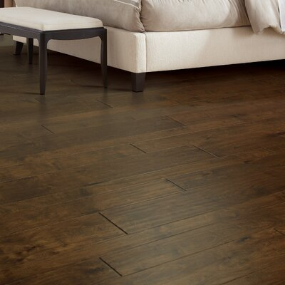 Allegra Random Width Engineered Birch Hardwood Flooring in Tobacco Birch