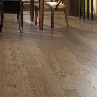 Allegra Random Width Engineered Birch Hardwood Flooring in Butternut Birch